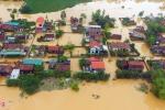 Ảnh: Hơn 20.000 nóc nhà chìm nghỉm giữa dòng nước lũ ở Quảng Bình