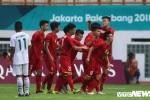 Trực tiếp Olympic Việt Nam vs Olympic Pakistan, bảng D ASIAD 2018