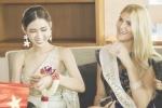 Nhật Hà khoe nhan sắc rạng rỡ, nổi bật giữa dàn thí sinh 'Hoa hậu Chuyển giới Quốc tế 2019'