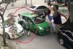 Đỗ xe ngang ngược, đánh lái xe taxi phun máu: Chuyển hồ sơ lên công an quận xử lý