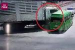 Clip: Khoảnh khắc tai nạn khiến 5 lao động Việt thiệt mạng ở Thái Lan