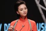 Ngô Thanh Vân dịu dàng áo dài, tái xuất sàn diễn thời trang