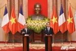 Chủ tịch nước Trần Đại Quang họp báo cùng Tổng thống Pháp Hollande
