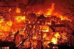 Video: Bé 3 tuổi nghịch dại gây cháy chung cư, 12 người chết