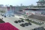 Video: Triều Tiên duyệt binh hoành tráng, phô diễn sức mạnh quân sự