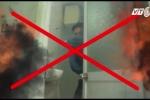 Kỹ năng thoát hiểm khi cháy nhà ống: Tuyệt đối không núp trong nhà vệ sinh