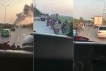 Clip: Xe cứu hỏa hú còi liên tục, hàng loạt ô tô vẫn không nhường đường