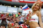 Những bóng hồng Nga 'thiêu đốt' World Cup ngày khai mạc
