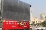 Cận cảnh 10 màn hình 'khủng' xem chung kết U23 Việt Nam ở TP.HCM