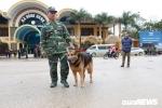 Ảnh: Chó nghiệp vụ, máy soi an ninh được đưa đến ga Đồng Đăng trước ngày đón ông Kim Jong Un