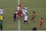 Chuẩn bị ASIAD, cầu thủ Malaysia và UAE hỗn chiến trên sân