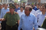 Cháy chung cư Carina: Phó Thủ tướng Trương Hòa Bình đối thoại với dân