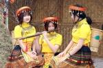 Nữ sinh Hà thành hoá thiếu nữ dân tộc xinh đẹp trong ngày đầu năm 2017