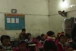 Clip: Cận cảnh ngôi trường xập xệ ở Bắc Ninh khiến 13 học sinh nhập viện