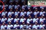Video: Nữ CĐV Triều Tiên được nhắc nhở khi vỗ tay cổ vũ VĐV của Mỹ
