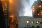 Cháy dữ dội trong nhà máy nhiệt điện Cẩm Phả