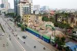 Video: Phá dỡ hai nhà tập thể cũ trên 'đất vàng' trung tâm Hà Nội