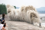 Video: Thủy triều khổng lồ đáng sợ trên sông Tiền Đường ở Trung Quốc