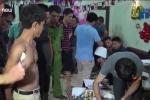 Clip: Bắt 50 nam thanh nữ tú phê ma túy tập thể ở Thái Bình