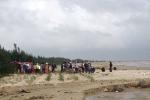 Phát hiện thi thể phụ nữ trên bờ biển ở Nghệ An