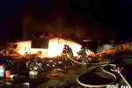 Cháy chợ ở Nghệ An, hơn 40 ki-ốt bị thiêu rụi trong đêm