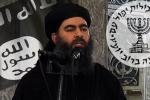 Trùm đầu sỏ IS bất ngờ lên tiếng sau tin đồn bị trúng bom
