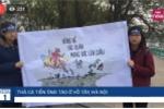 Trực tiếp: Không khí thả cá tiễn ông Táo ở Hồ Tây, Hà Nội