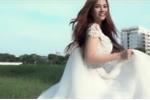 Sau hôn nhân tan vỡ, Thu Thủy bất ngờ diện váy cưới