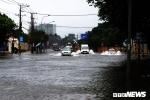 Tâm bão đang ở Vũng Tàu, gió giật mạnh khiến cây gãy đổ, tàu chìm
