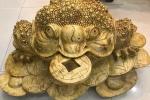 Ngày vía Thần Tài 2018: Giới kinh doanh lùng mua cóc ngậm tiền bằng đá quý