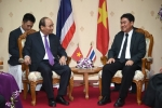 Thủ tướng Nguyễn Xuân Phúc làm việc với Tỉnh trưởng Nakhon Phanom, Thái Lan