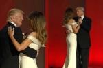 Clip: Tổng thống Donald Trump khiêu vũ tình tứ cùng phu nhân