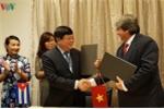 VOV và Viện Phát thanh - Truyền hình Cuba ký Thoả thuận Hợp tác