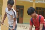 Hai chàng trai Cơ Tu hiến đất, bỏ làm 4 tháng xây trường học cho trẻ em nghèo
