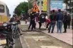 Xác định danh tính tài xế xe 'dù' giả xe buýt đánh nữ hành khách chảy máu mũi ở Hà Tĩnh