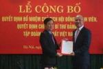 Bổ nhiệm tân Chủ tịch Tập đoàn Hóa chất Việt Nam