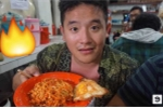 Thanh niên liều mình ăn đĩa mì trộn 100 quả ớt hiểm cay nhất thế giới