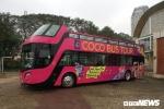 Xe bus 2 tầng về VFF, chờ khoác áo mới đón U23 Việt Nam