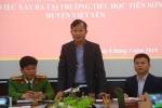 Công an: Chưa đủ căn cứ xác định thầy giáo ở Bắc Giang dâm ô nhiều nữ sinh