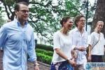 Công chúa kế vị Thụy Điển tập thể dục lúc sáng sớm cùng người dân Hà Nội