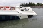 Tàu cao tốc chở 42 người gặp nạn ở Cần Giờ