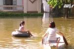 Hà Nội: Ngàn hộ dân Chương Mỹ vẫn bị cô lập vì ngập lụt