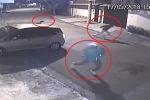 Clip: Cướp nhầm xe cảnh sát, băng cướp hứng mưa đạn, chạy trối chết