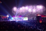 Video: Triều Tiên đón năm 2019 với màn pháo hoa ấn tượng, ca nhạc đặc sắc