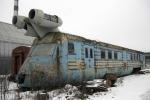 Phát hiện tàu hoả phản lực từ thời Liên Xô có thể lướt nhanh như máy bay