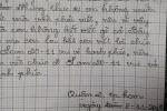 Bật cười khi đọc bức thư cậu học trò 7 tuổi gửi cô giáo ngày 20/11