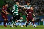 Trực tiếp Barca vs Sporting vòng bảng bóng đá cúp C1 2017