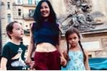 Sau ly hôn, Hồng Nhung đưa hai con đi du lịch châu Âu