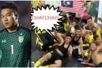 Ăn mừng chiến thắng, cầu thủ Malaysia mỉa mai thủ thành Thái Lan