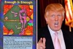 Lời đồn về số phận bi thảm của Donald Trump quanh tấm thẻ bài ghê rợn
